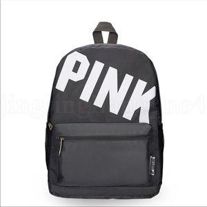 "Handbags - New backpack in grey color 16.5""x14"""
